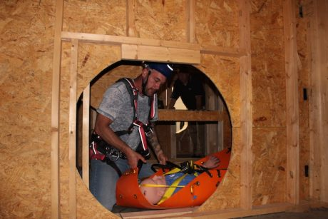 Confined space demo