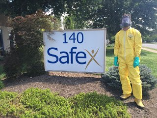 Nick Grisso as Otterbein University Intern at Safex