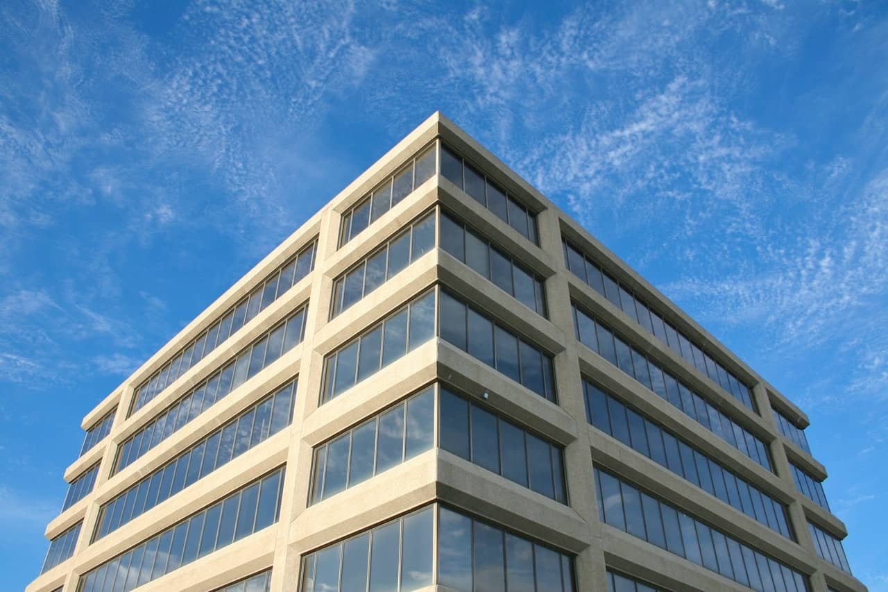 Indoor air assessment for commercial office building