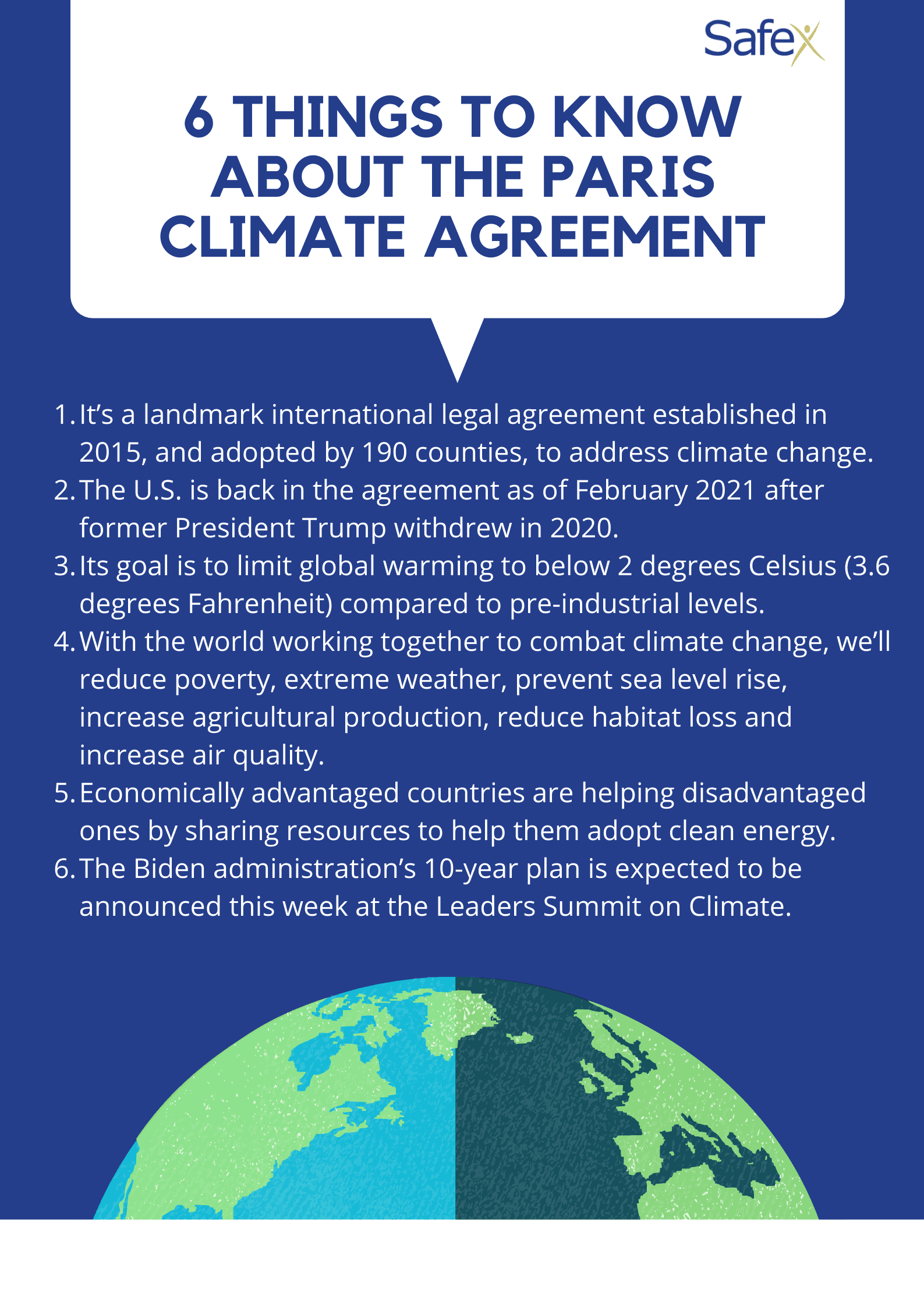 8 things To Know About the Paris Climate Agreement